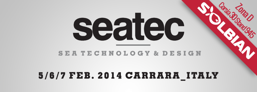 Seatec logo, Solbian, pannelli solari, pannelli solari flessibili, pannelli fotovoltaici flessibili, Zona D, stand 945
