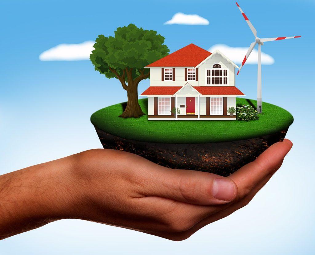 casa autosostenibile